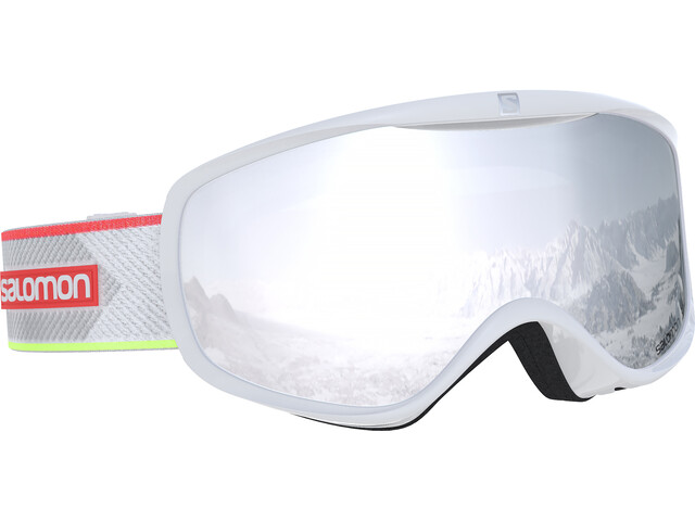 Salomon Sense Goggles Damen white corail